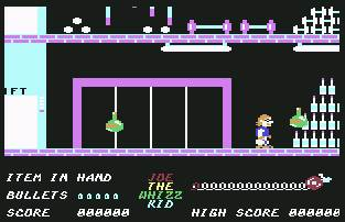 Pantallazo de Joe the Whizz Kid para Commodore 64