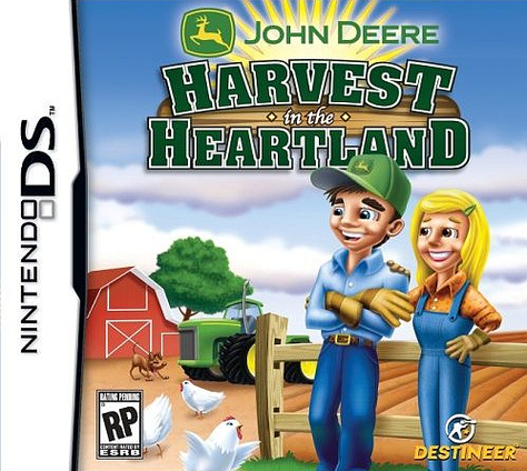 Caratula de John Deere: Harvest in the Heartland para Nintendo DS