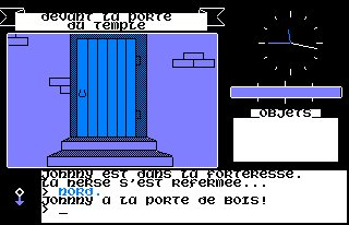Pantallazo de Johnny Proot 2 para Amstrad CPC