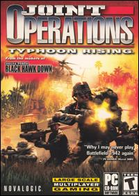 Caratula de Joint Operations: Typhoon Rising para PC