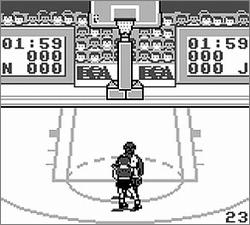 Pantallazo de Jordan vs. Bird: One on One para Game Boy