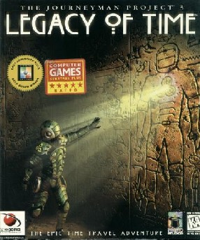 Caratula de Journeyman Project 3: Legacy of Time, The para PC