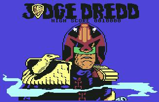 Pantallazo de Judge Dredd para Commodore 64