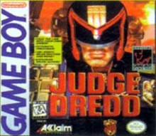 Caratula de Judge Dredd para Game Boy