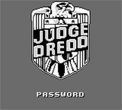 Pantallazo de Judge Dredd para Game Boy