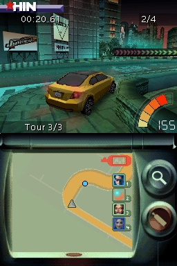 Pantallazo de Juiced 2: Hot Import Nights para Nintendo DS