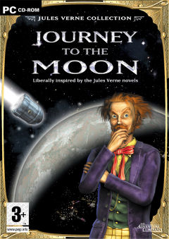 Caratula de Jules Verne: Journey to the moon para PC