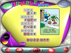 Pantallazo de Jumble: That Scrambled Word Game para PC