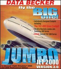 Caratula de Jumbo Jet 2000: Version 3.0 para PC