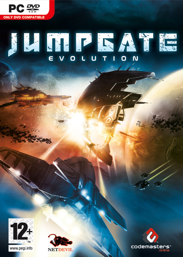 Caratula de Jumpgate Evolution para PC