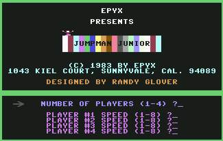 Pantallazo de Jumpman Junior para Commodore 64