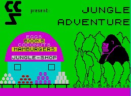 Pantallazo de Jungle Adventure para Spectrum