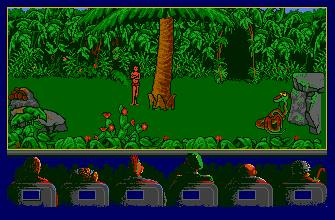Pantallazo de Jungle Book para Atari ST