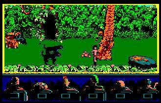 Pantallazo de Jungle Book para Amstrad CPC