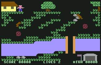 Pantallazo de Jungle Jack para Commodore 64