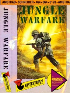 Caratula de Jungle Warfare para Amstrad CPC