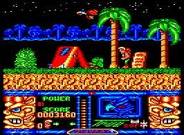 Pantallazo de Jungle Warrior para Amstrad CPC