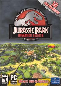 Caratula de Jurassic Park: Operation Genesis para PC