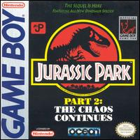 Caratula de Jurassic Park Part 2: The Chaos Continues para Game Boy