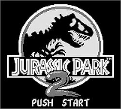 Pantallazo de Jurassic Park Part 2: The Chaos Continues para Game Boy