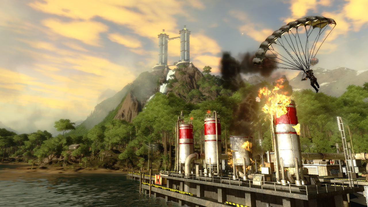 Pantallazo de Just Cause 2 para PlayStation 3