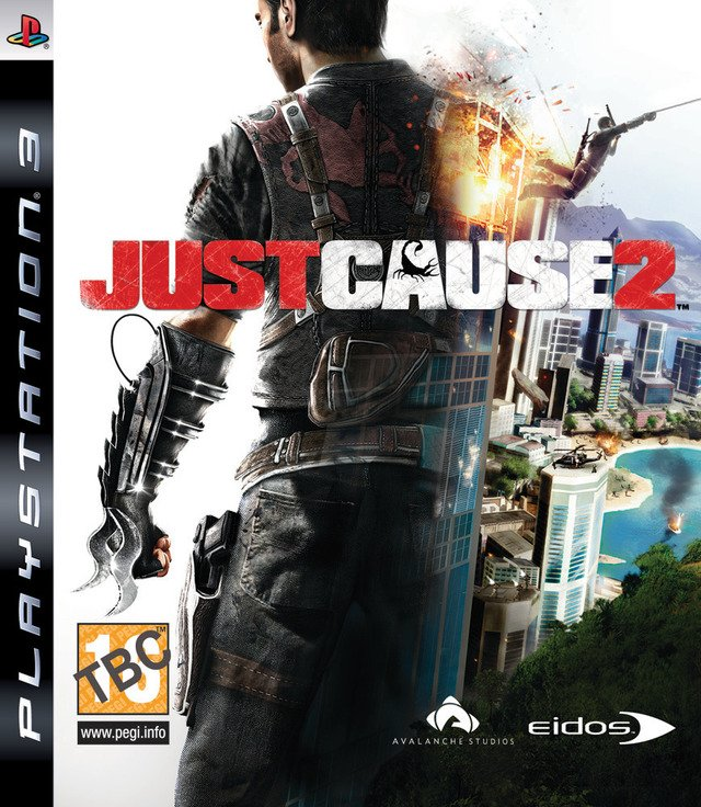 Caratula de Just Cause 2 para PlayStation 3