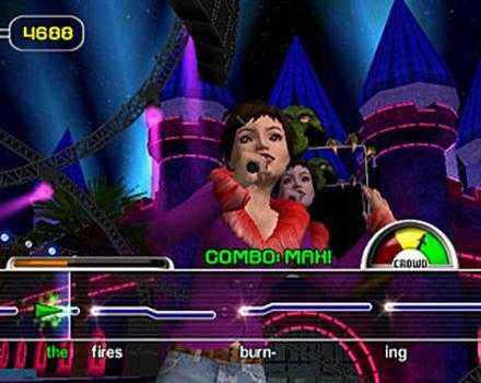 Pantallazo de Karaoke Revolution Party Bundle para GameCube
