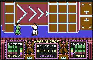 Pantallazo de Karate Chop para Commodore 64