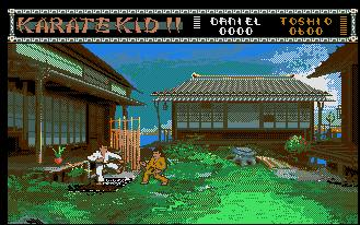 Pantallazo de Karate Kid Part II, The para Atari ST