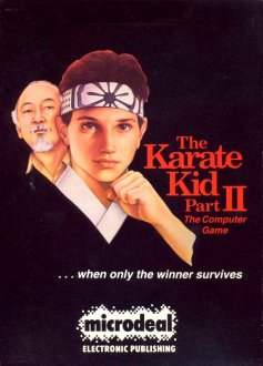 Caratula de Karate Kid Part II, The para Atari ST