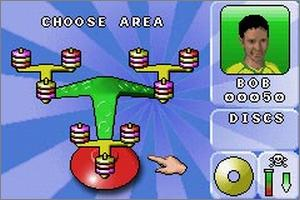 Pantallazo de Kerplunk, Toss Across, Tip It para Game Boy Advance