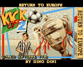 Pantallazo de Kick Off 2: Giants of Europe para Amiga