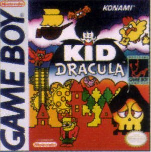 Caratula de Kid Dracula para Game Boy