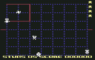 Pantallazo de Kid Grid para Commodore 64