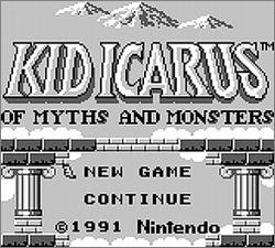 Pantallazo de Kid Icarus: Of Myths and Monsters para Game Boy