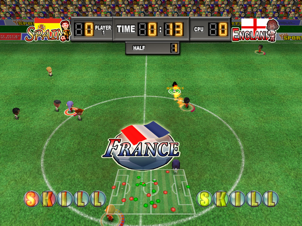 Pantallazo de Kidz Sports: International Football para PlayStation 2