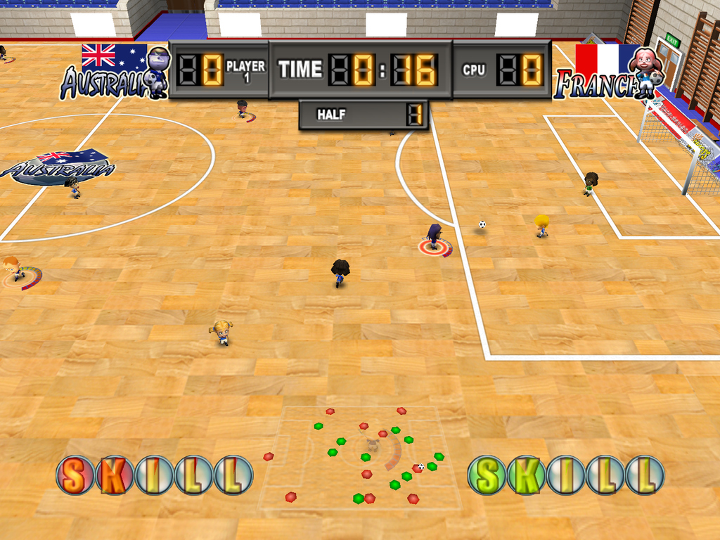 Pantallazo de Kidz Sports: International Football para Wii