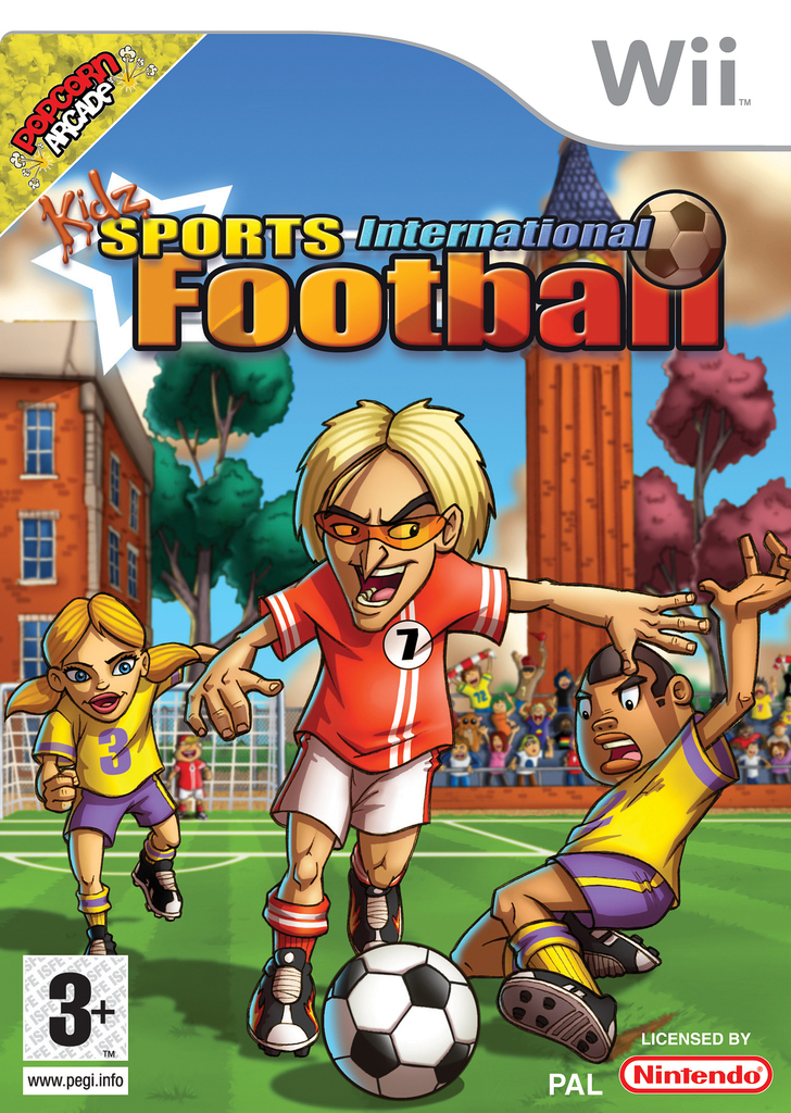 Caratula de Kidz Sports: International Football para Wii