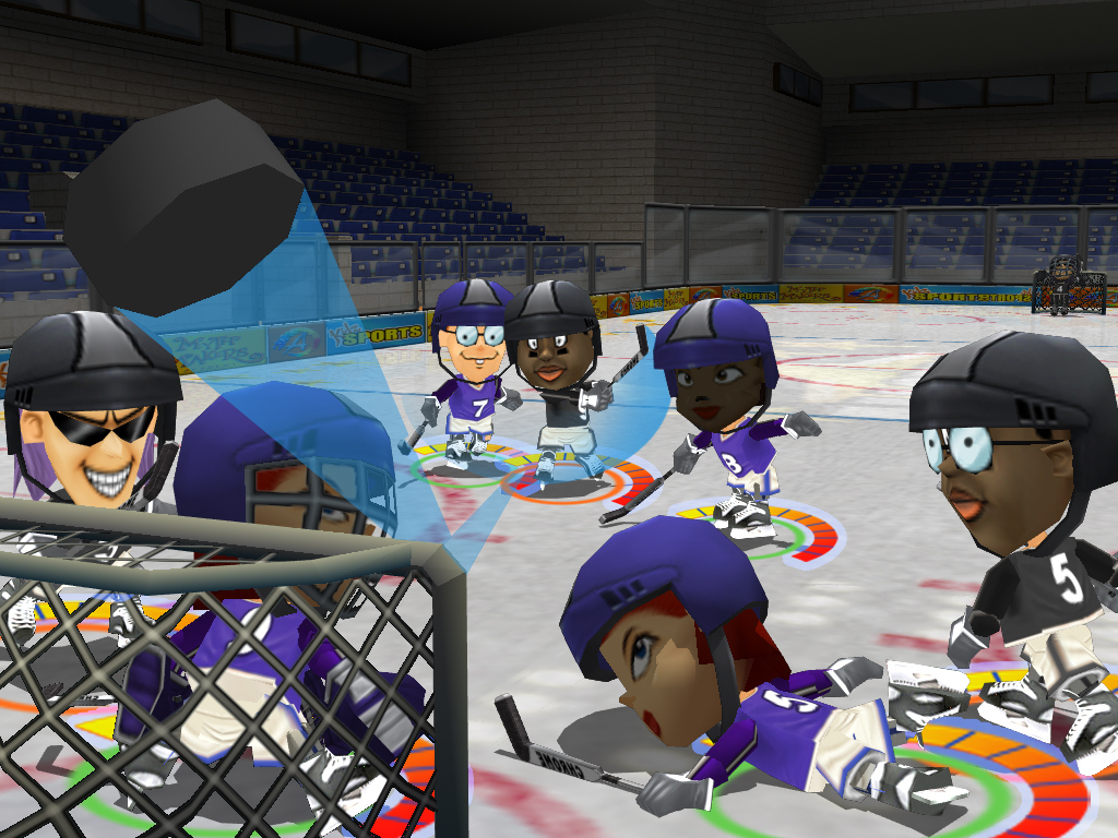 Pantallazo de Kidz Sports Ice Hockey para Wii