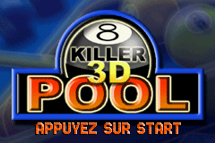 Pantallazo de Killer 3D Pool para Game Boy Advance