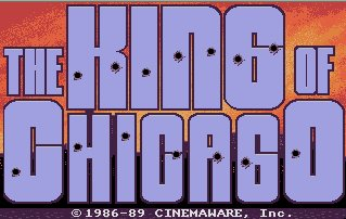 Pantallazo de King of Chicago, The para Atari ST