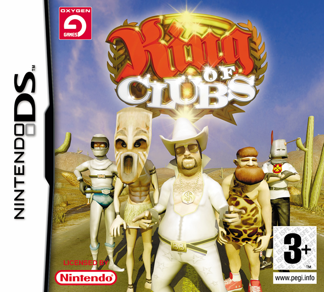 Caratula de King of Clubs para Nintendo DS