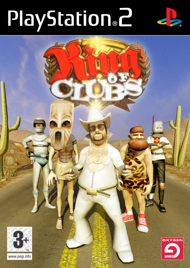 Caratula de King of Clubs para PlayStation 2
