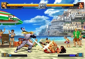Pantallazo de King of Fighters 2002: Unlimited Match, The para PlayStation 2