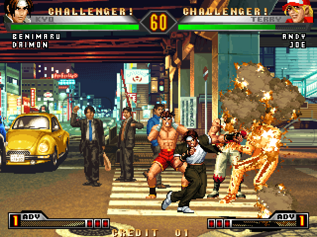 Pantallazo de King of Fighters '98 Ultimate Match, The para PlayStation 2