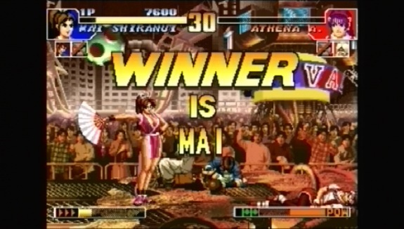 Pantallazo de King of Fighters Collection, The: The Orochi Saga para PSP