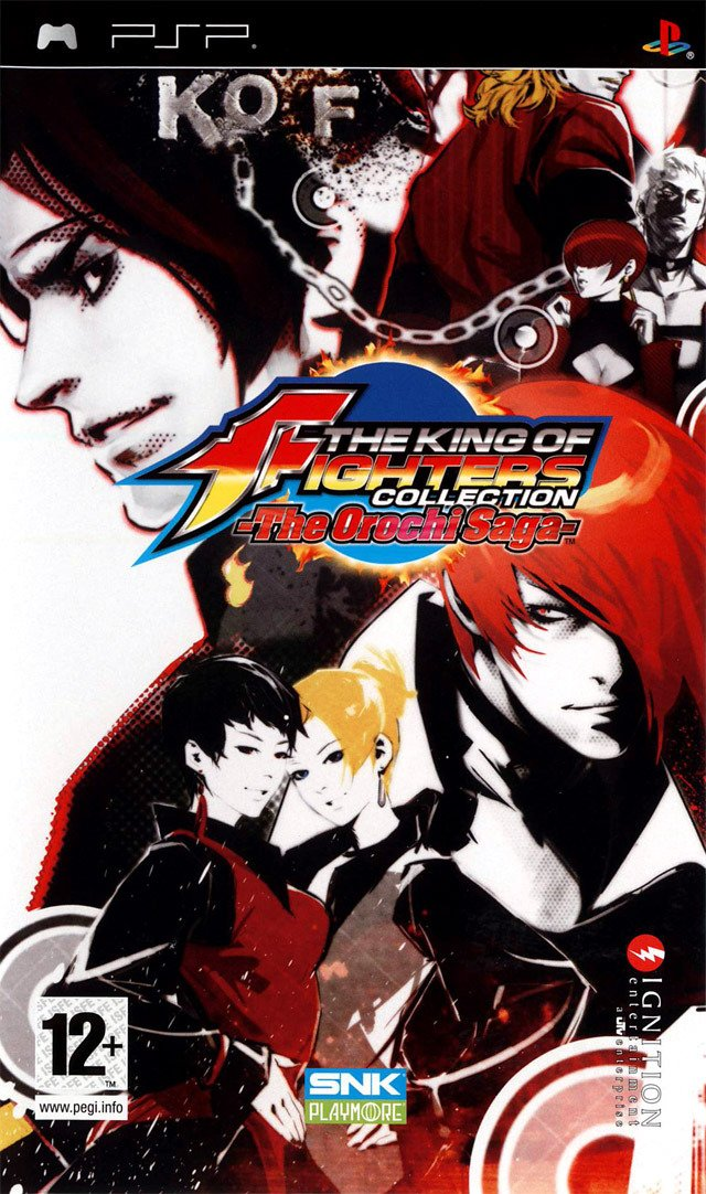 Caratula de King of Fighters Collection, The: The Orochi Saga para PSP