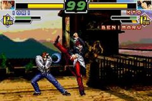 Pantallazo de King of Fighters EX: Neo Blood, The para Game Boy Advance