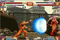 Pantallazo de King of Fighters EX2: Howling Blood, The para Game Boy Advance