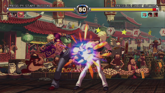 Pantallazo de King of Fighters XII, The para Xbox 360